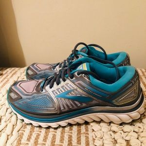 WOMENS BROOKS GLYCERIN G13 RUNNING SHOES SIZE 8.5